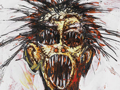 Clive Barker - Paintings - Header