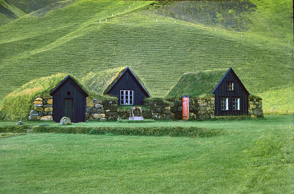 Iceland Troll Believers - Turf House