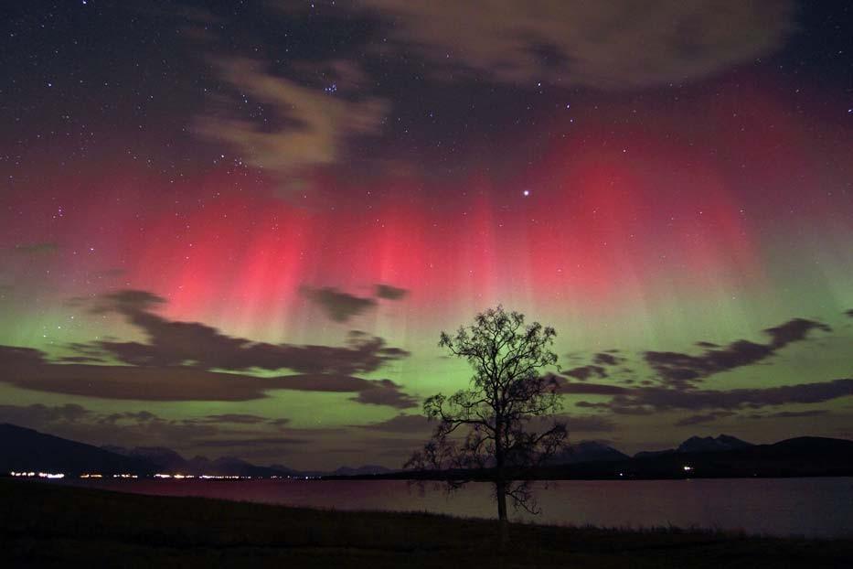 Iceland Troll Believers aurora