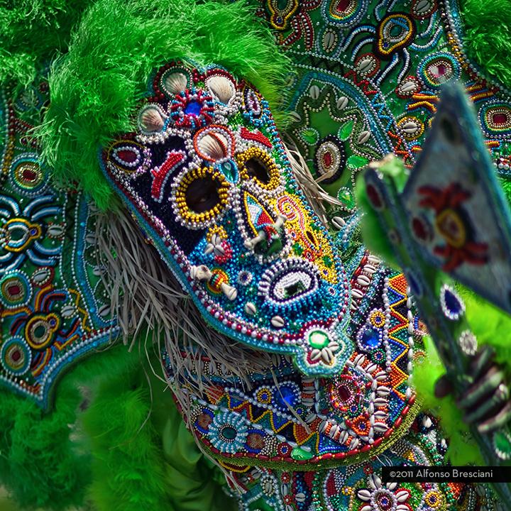 Mardi Gras Indians - big voodoo