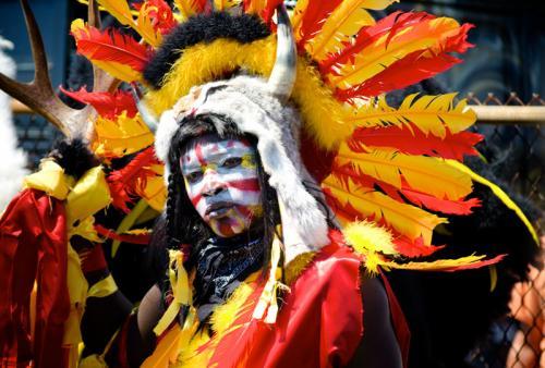 Mardi Gras Indians - brave