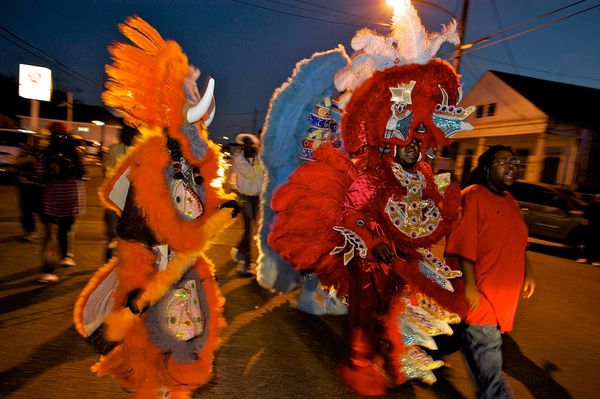 Mardi Gras Indians - head piece