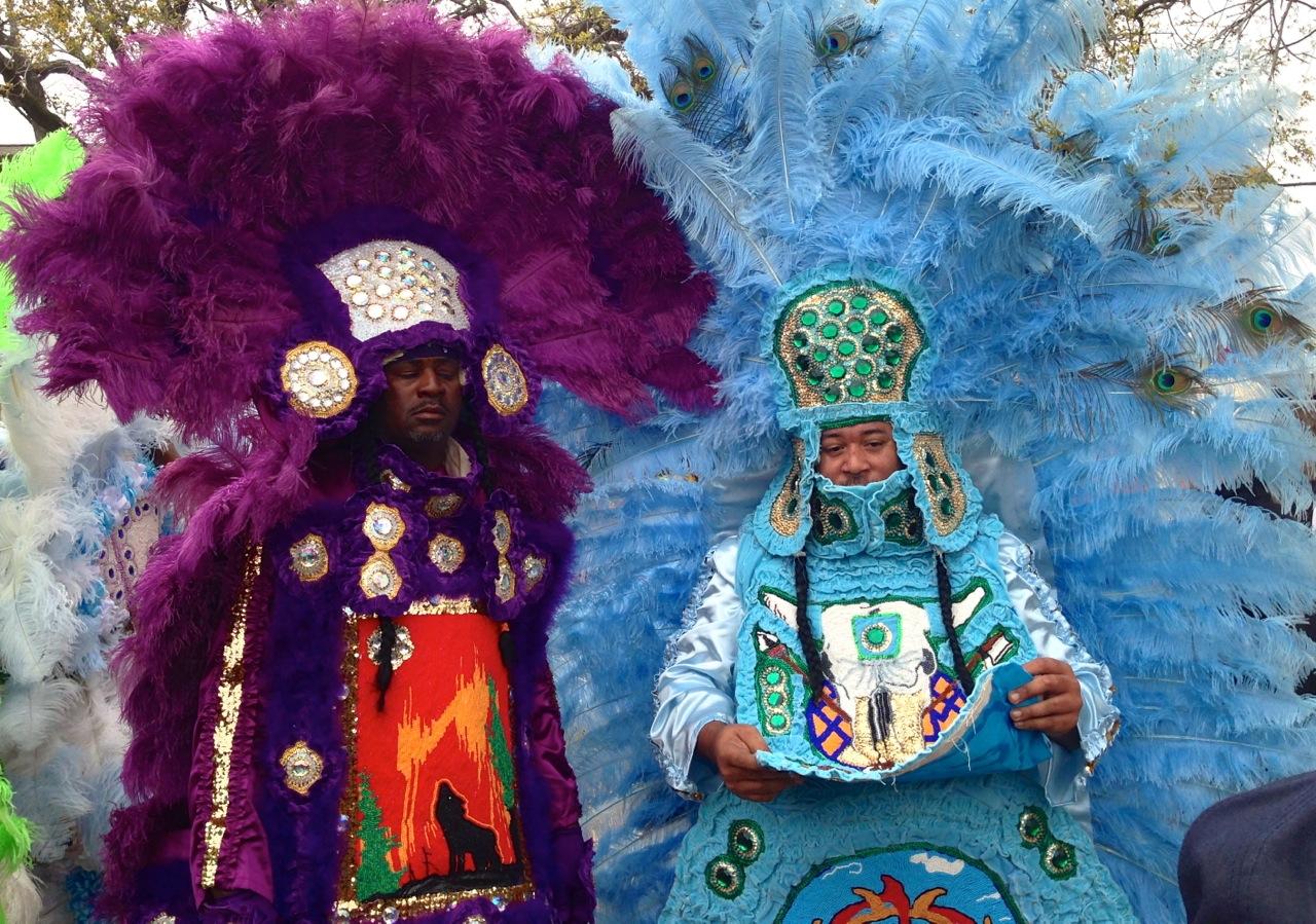 Mardi Gras Indians - legends