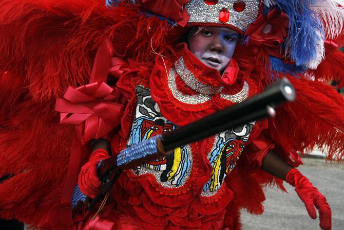 Mardi Gras Indians Super Sunday
