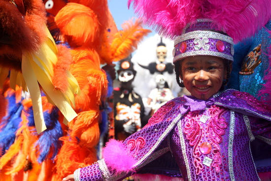 Mardi Gras Indians - youth
