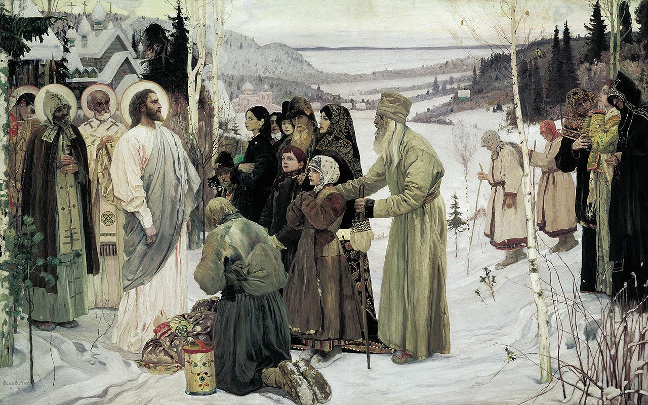 Mikhail Nesterov - Holy Rus, 1901-06
