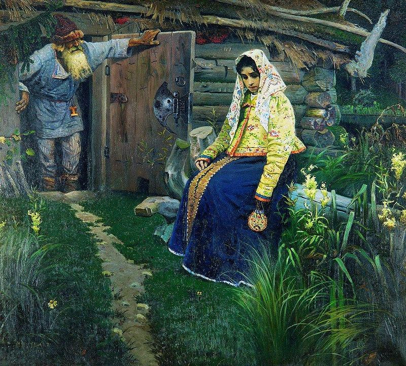 Mikhail Nesterov - The Love Potion, 1888
