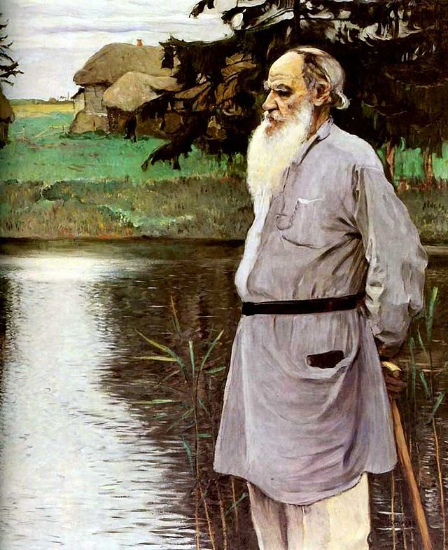 Mikhail Nesterov - Tolstoy, 1906