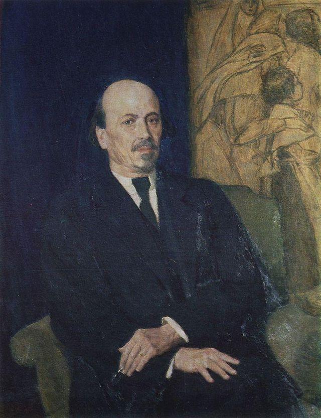 Mikhail Nesterov - self portrait - Портрет_М.В.Нестерова
