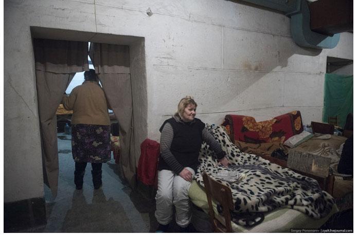 Ukraine Donetsk Daily Life - basement 3