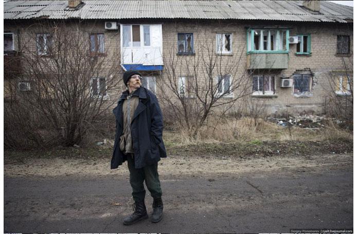Ukraine Donetsk Daily Life - dude