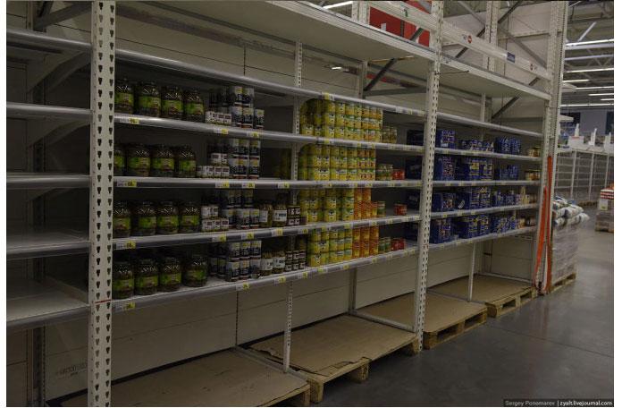 Ukraine Donetsk Daily Life - supermarket 3
