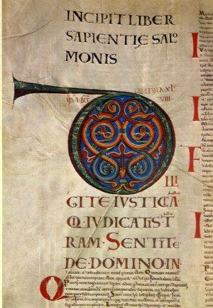 Codex Gigas - Devils Bible Inside Image