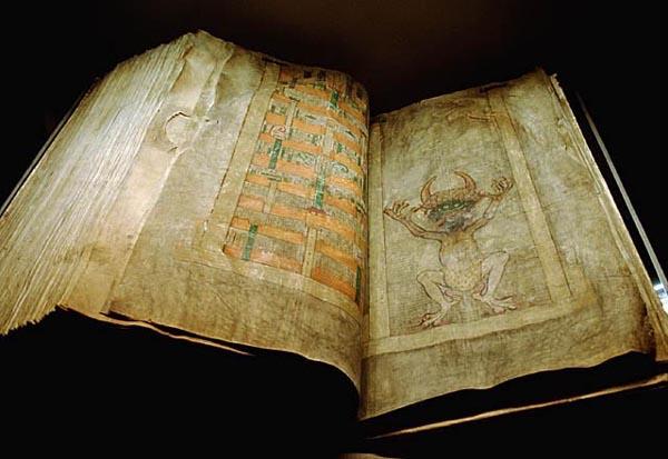 Codex Gigas - Devils Bible Picture
