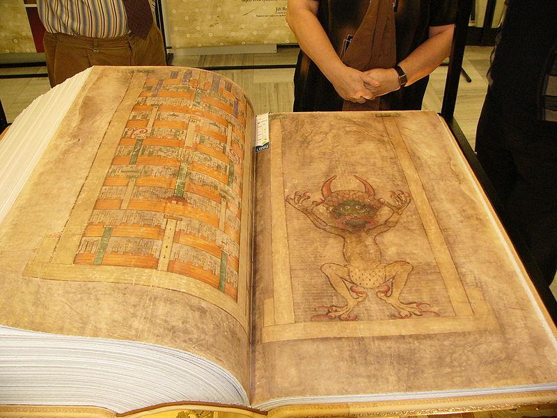 Codex Gigas - Devils Bible Size