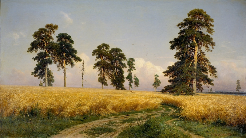 Ivan Shishkin - Forest Painting 10