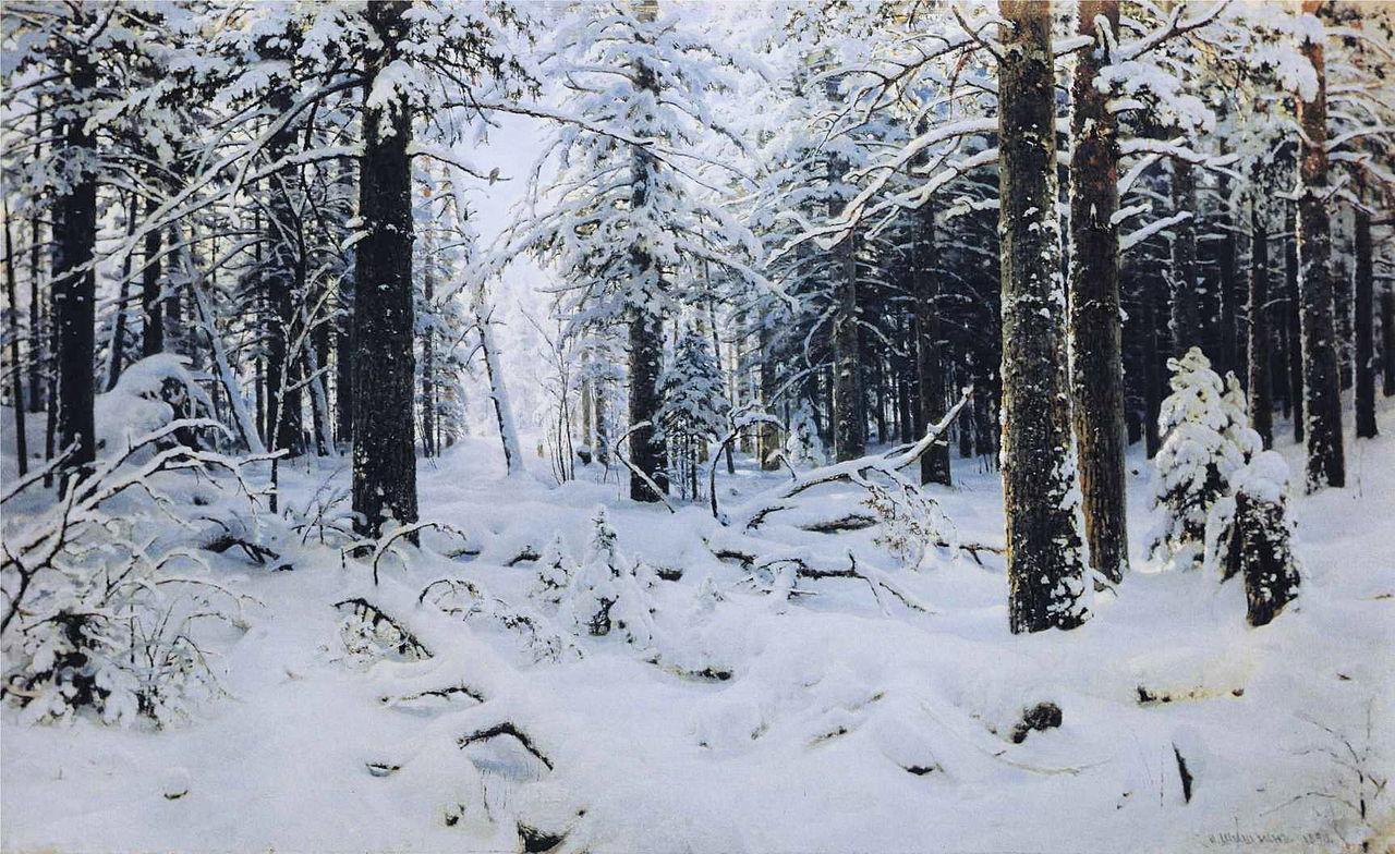 Ivan Shishkin - Forest Painting 11
