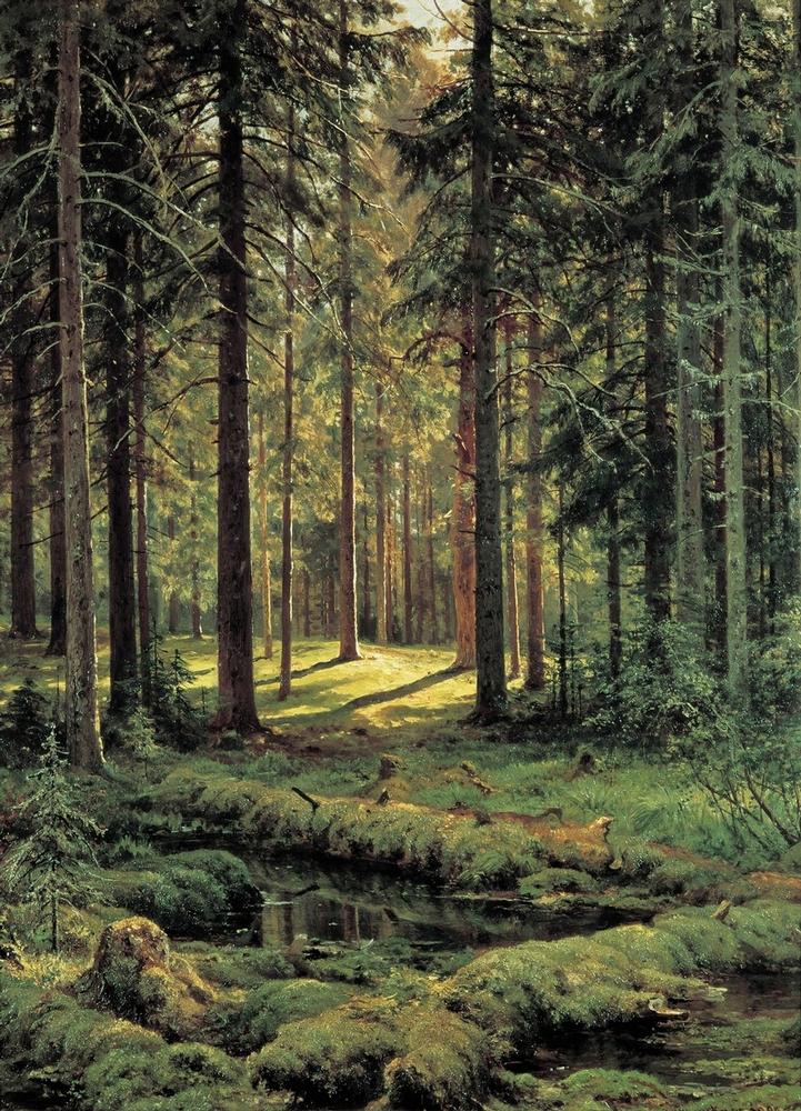Ivan Shishkin - Forest Painting 3
