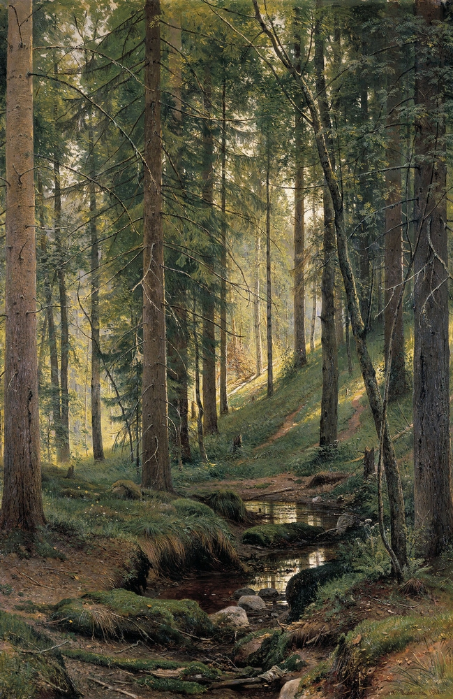 Ivan Shishkin - Forest Painting 4