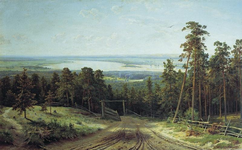 Ivan Shishkin - Forest Painting 5