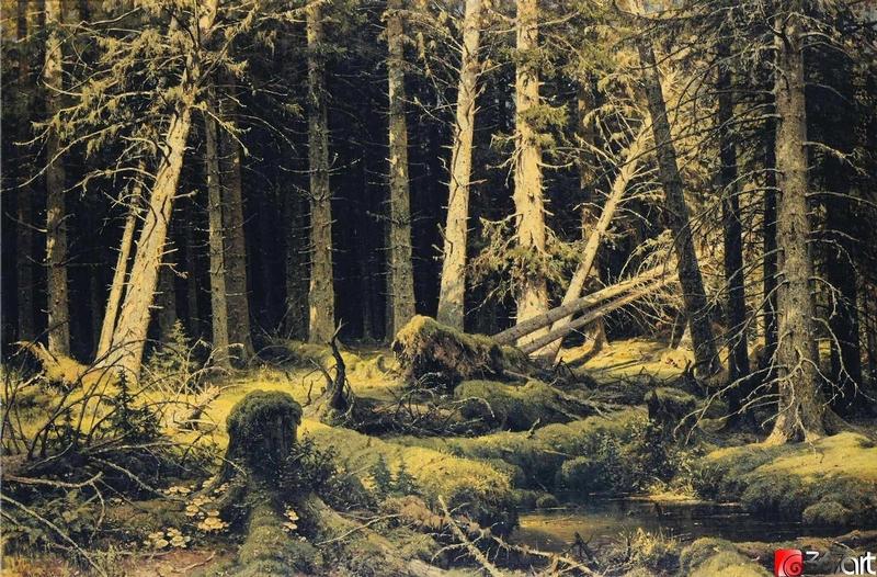 Ivan Shishkin - Forest Painting 6