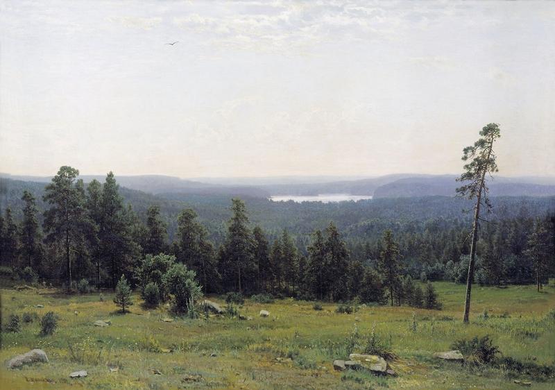 Ivan Shishkin - Forest Painting 7