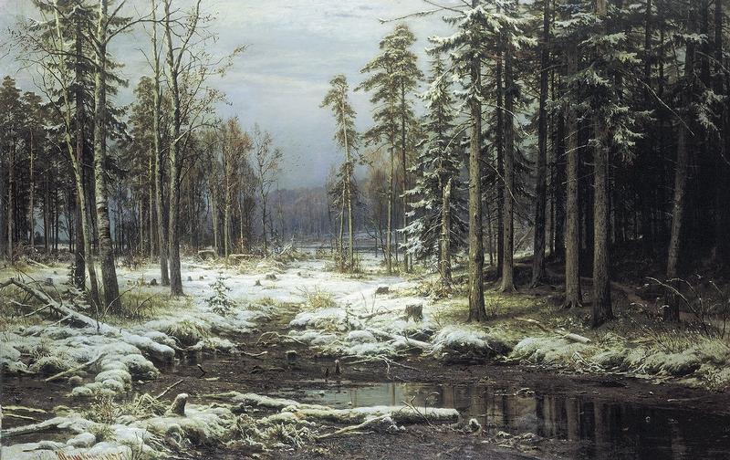 Ivan Shishkin - Forest Painting 8