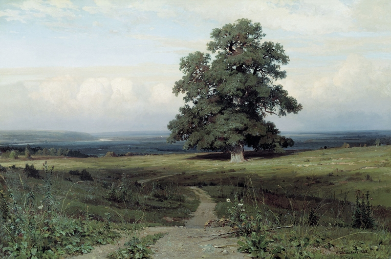 Ivan Shishkin - Forest Painting 9