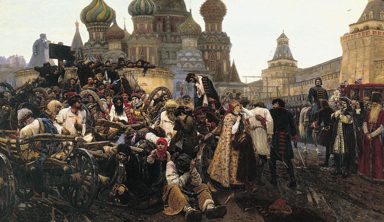 Krasnoyarsk Vasily Surikov - the morning of streltsy's execution