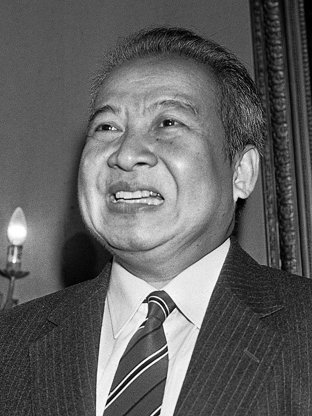 Pan Ron - Cambodian Norodom Sihanouk King
