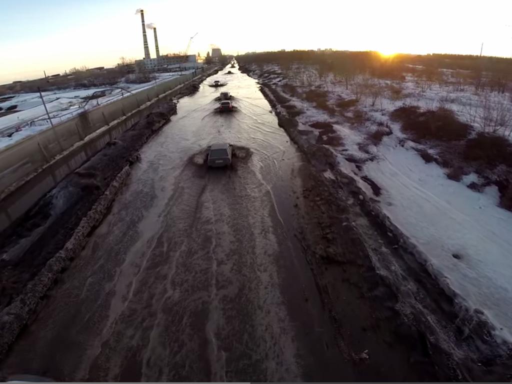 Samara Russia Worst Road In The World