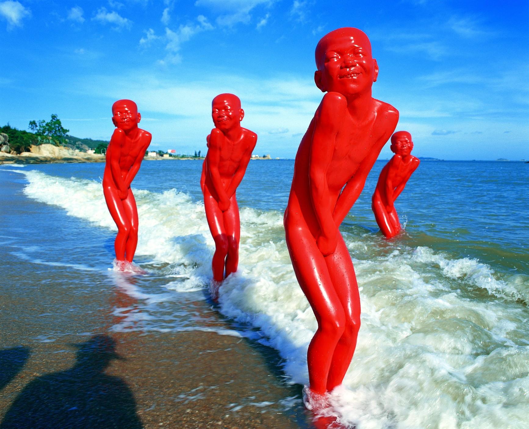 Chen Wen Ling - Beach Sculpture 2