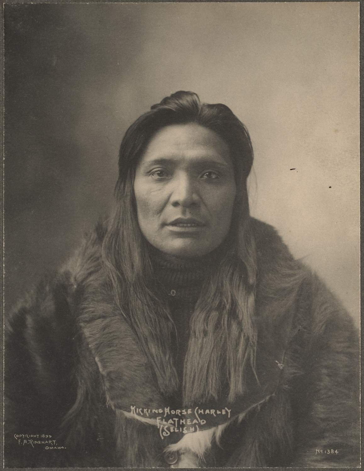 Frank Rinehart - Native American - Flat Head