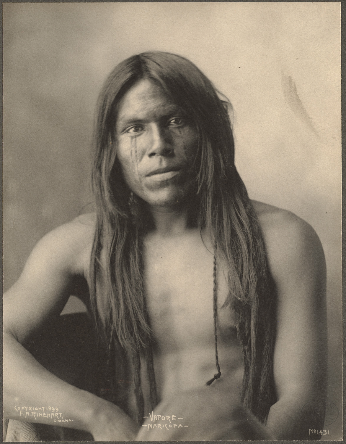 Frank Rinehart - Native American - Long Hair 2