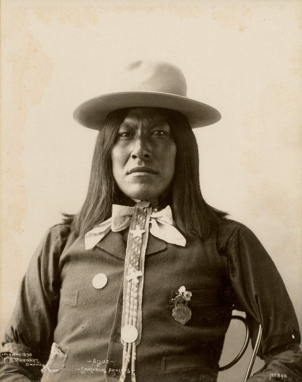 Frank Rinehart - Native American - Assuz – San Carlos Apache
