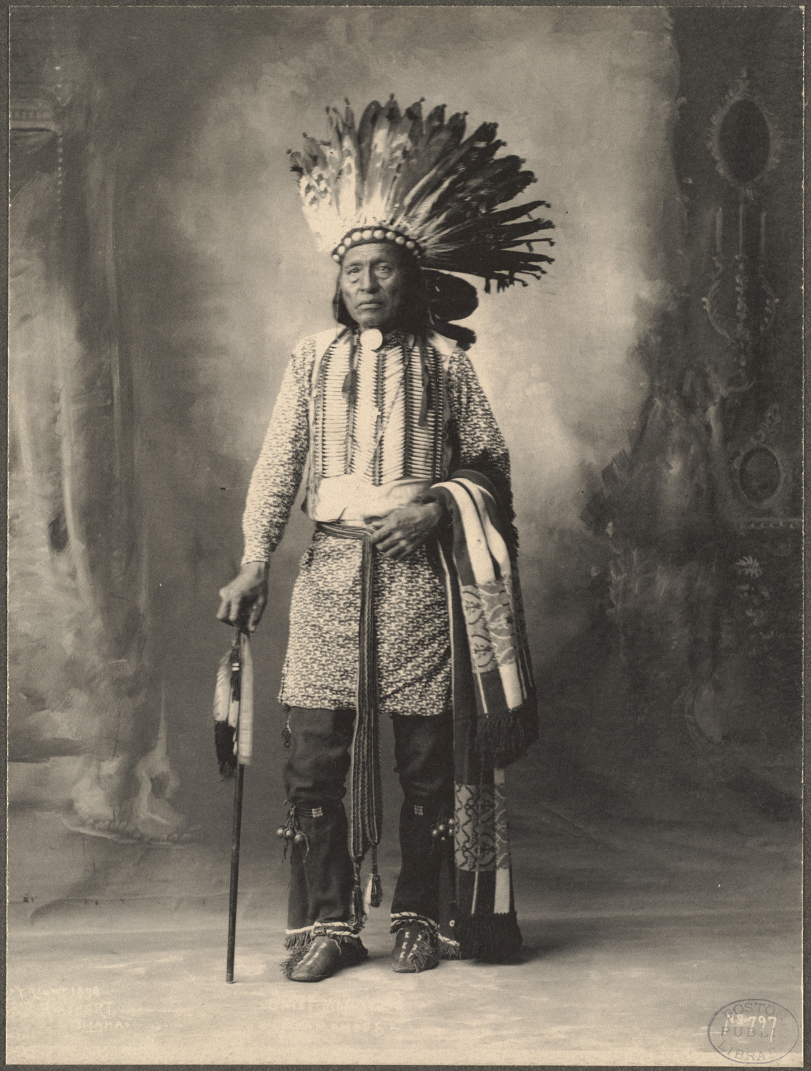 Frank Rinehart - Native American - Chief