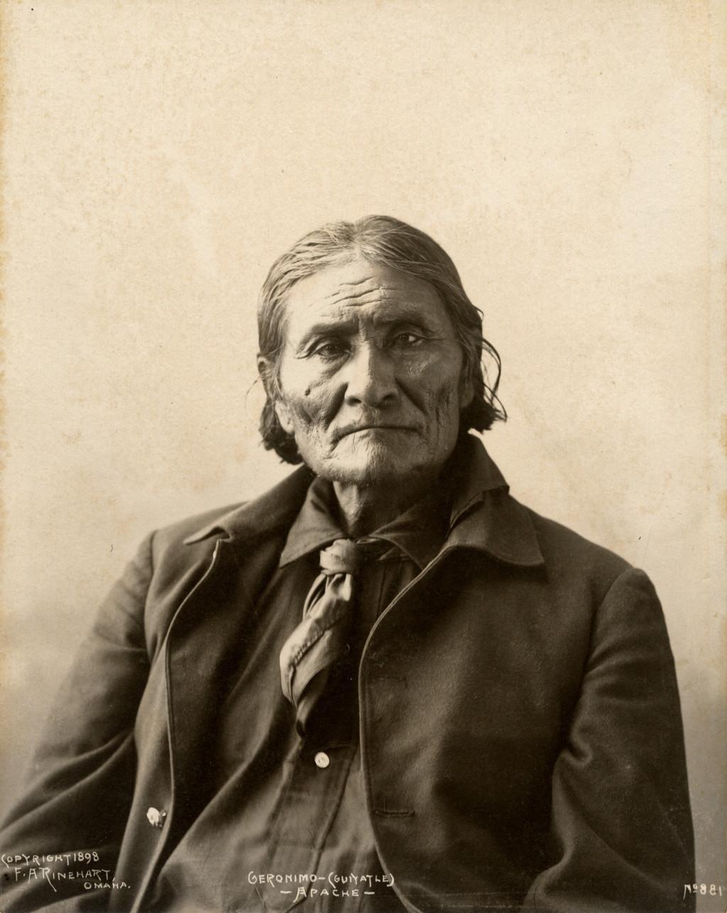 Frank Rinehart - Native American - Geronimo (Goyaalé) Apache
