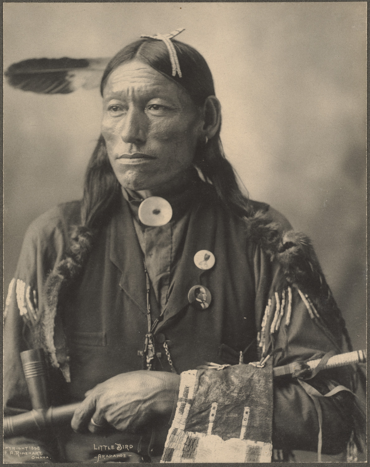 Frank Rinehart - Native American - Little Bird, Arapahoe