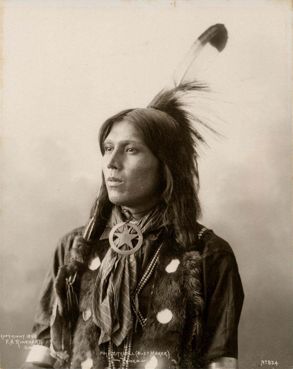Frank Rinehart - Native American - Peter Mitchell (Dust Maker) – Ponca