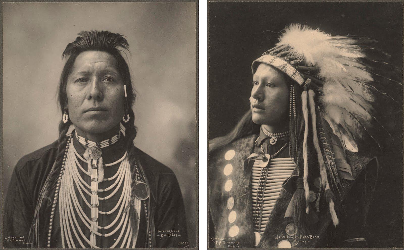 Frank Rinehart - Native American - Portraits
