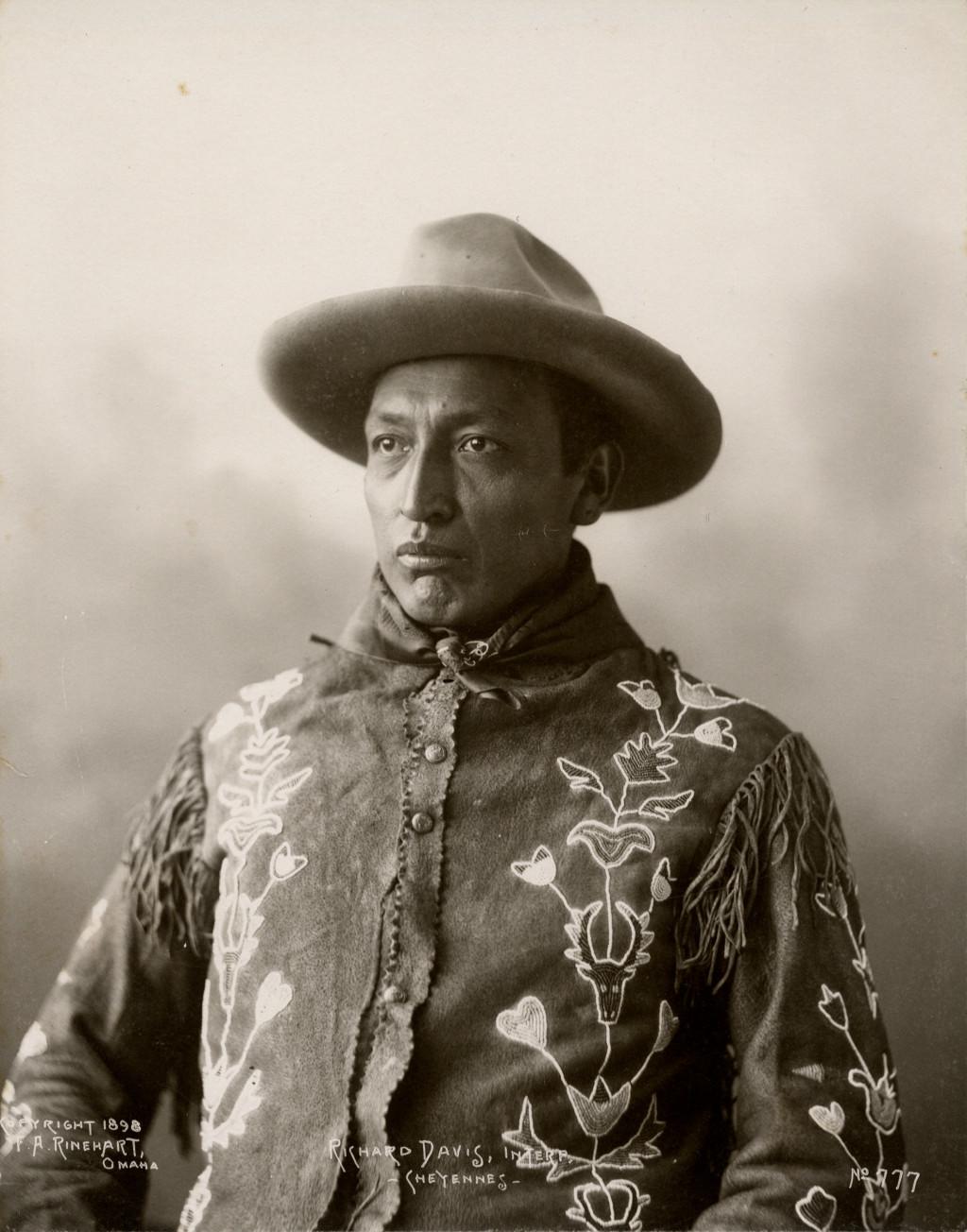 Frank Rinehart - Native American - Richard Davis – Cheyenne