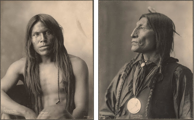 Frank Rinehart - Native American - Young and Old