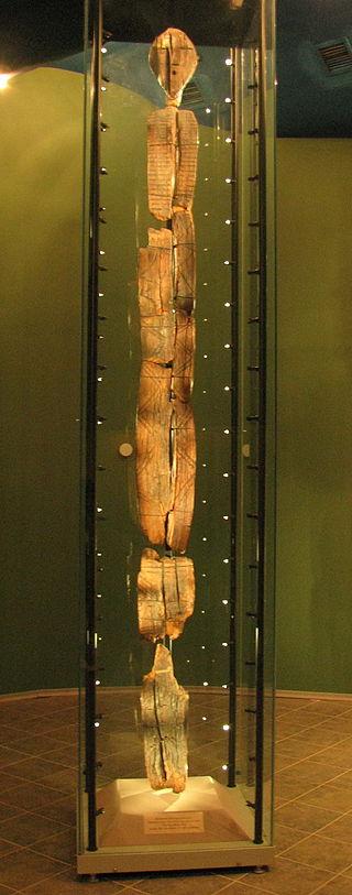 Shigir Idol - Oldest Wooden Sculpture Большой_шигирский_идол