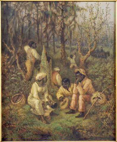 The Great Dismal Swamp - Fugitive Slaves in the Dismal Swamp, Virginia, by David Edward Cronin, 1888