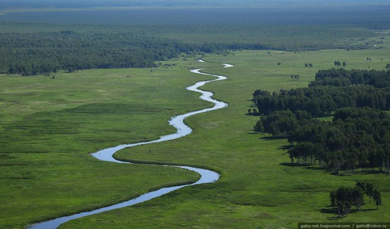 Vasyugan Mire - Biggest Swamp Russia - From The Air 4