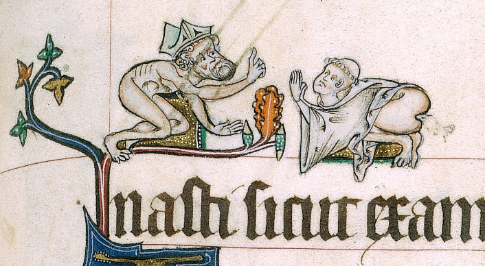 Weird Medieval Art - 2 - Goreleston Psalter