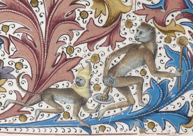 Weird Medieval Art - Recueil des croniques d'Engleterre, Bruges, 1471-1483