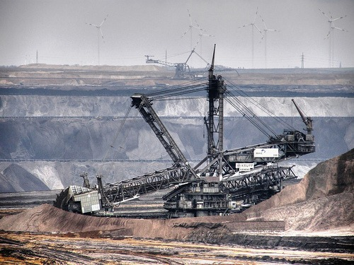 Bagger 293 - At Work