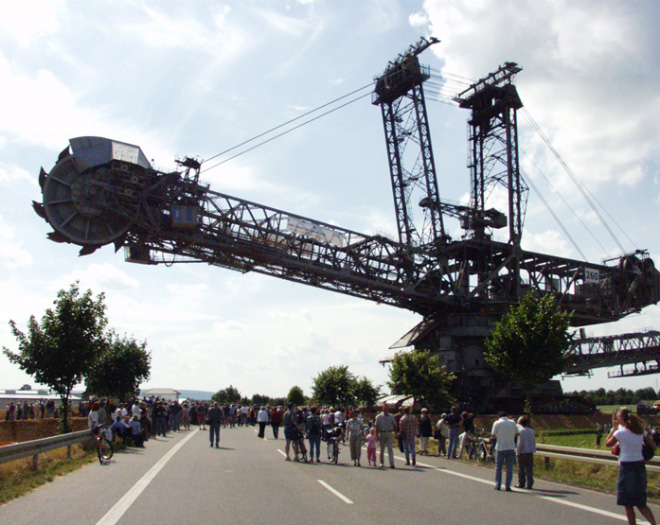 Bagger 293 - Biggest Vehicle At Hambach