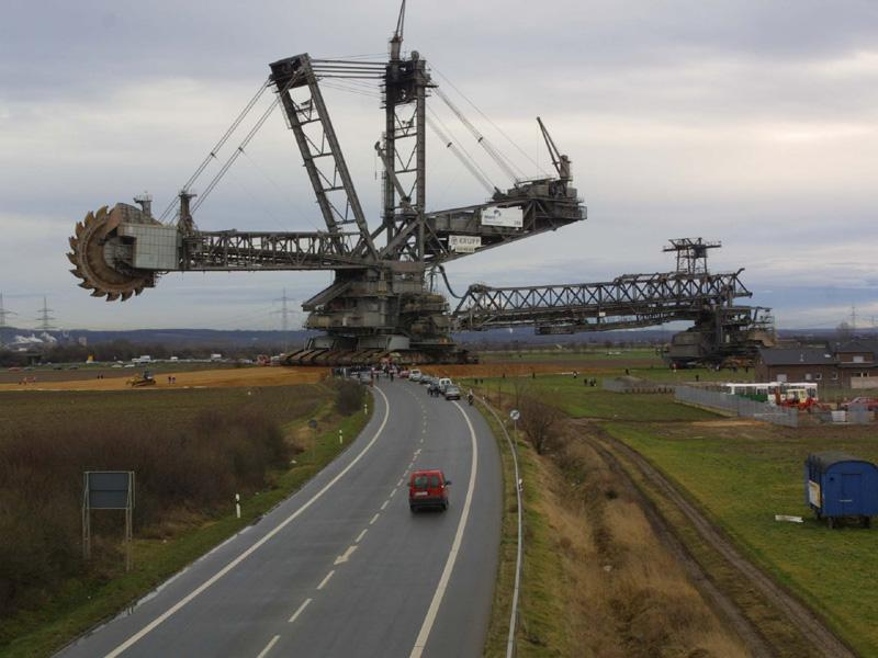 Bagger 293 - Heaviest Vehicle